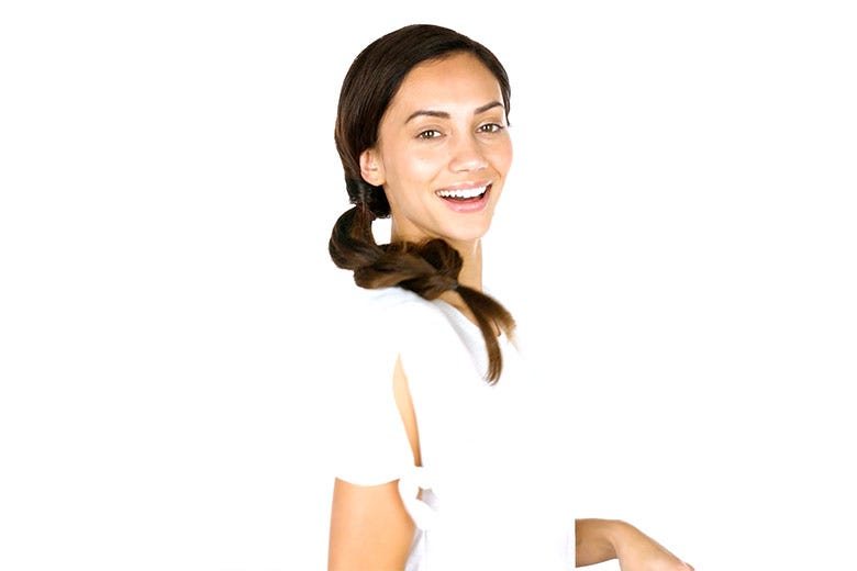 How To: Braided Style for Wavy Hair
