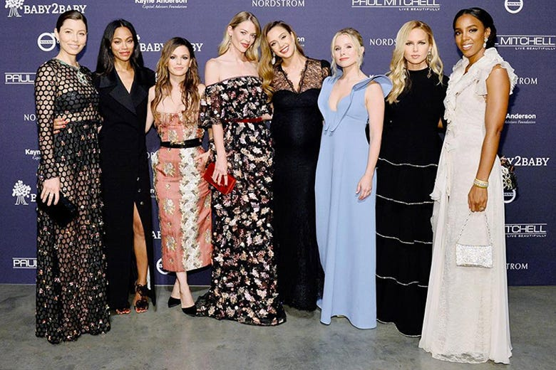 Hollywood's Leading Ladies Stun at the 2017 Paul Mitchell Presents BABY2BABY Gala