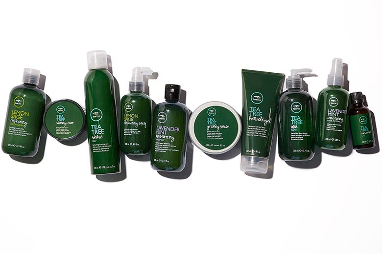 Hair Product Mixology with Tea Tree