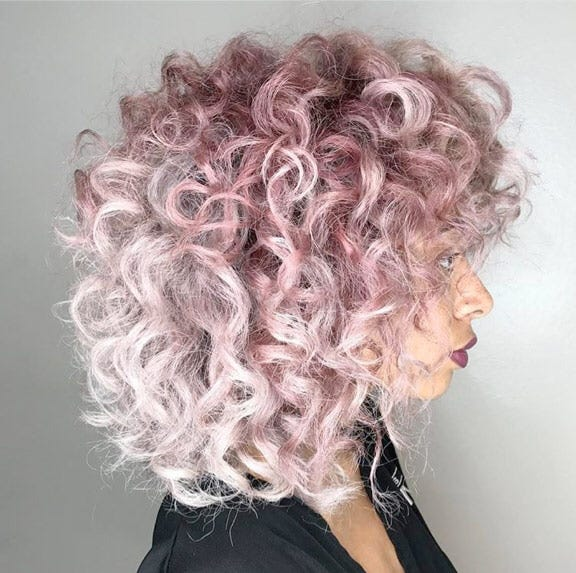 Candy-Colored Curls: Another Hair Trend to Crave @hairbypaulahouston
