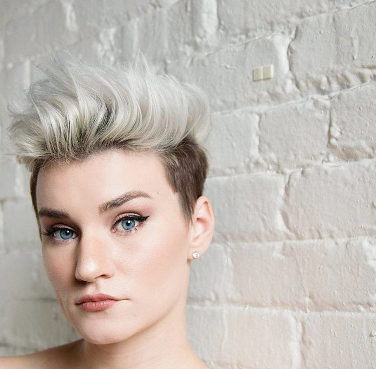 Ellery Ann Short Edgy Hairstyle via @lucasdoney