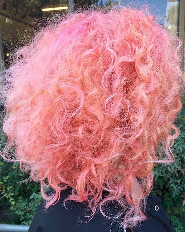 Candy-Colored Curls: Another Hair Trend to Crave @stefydoeshair