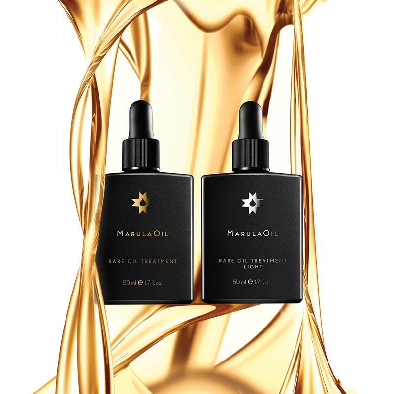 artistic image of the marulaoil rare oil treatment