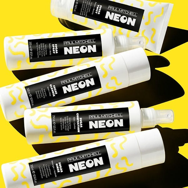 image of the neon product line