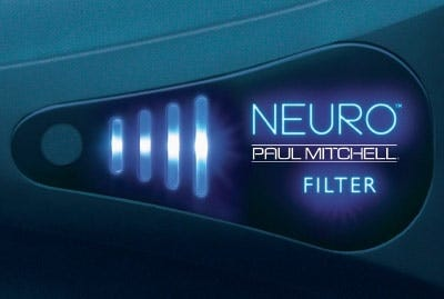 artistic image of the neuro clean filter indicator light