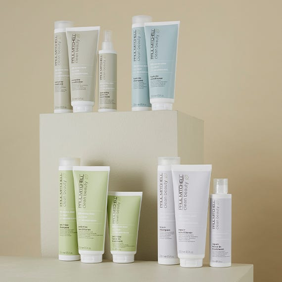 Clean Beauty is good for hair and good for the earth.