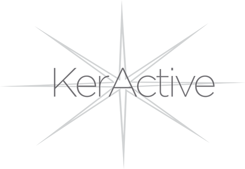 image of the keractive logo
