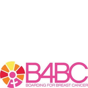 Boarding for Breast Cancer logo