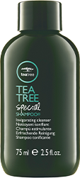 Image of Tea Tree Special Shampoo travel size bottle